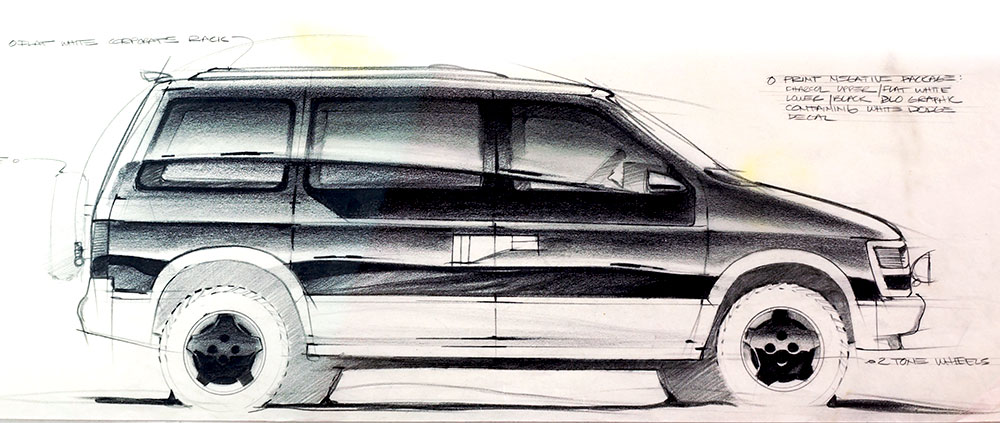 Car Design Drawings | Getting Creative with Line Weight