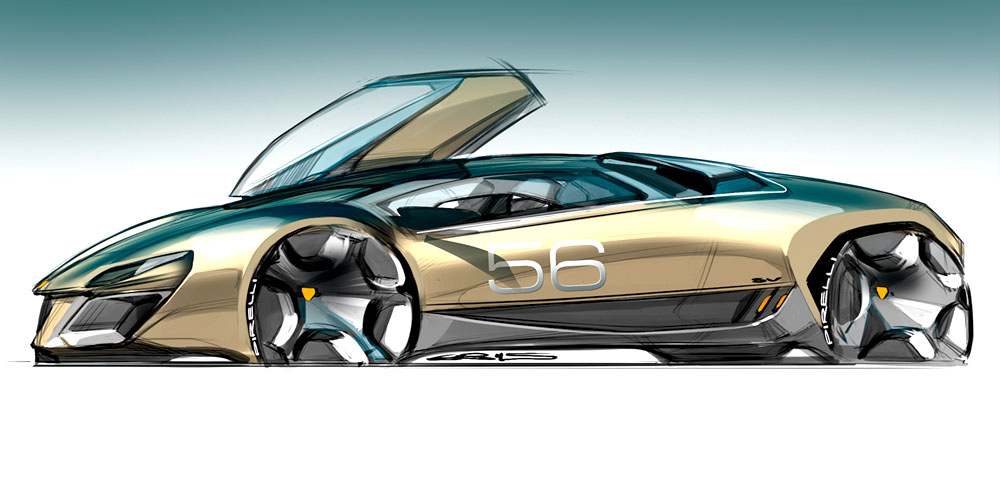 automotive-design-course-sketch by butin